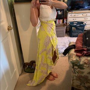 Luxxel Wrap Dress- Size Medium